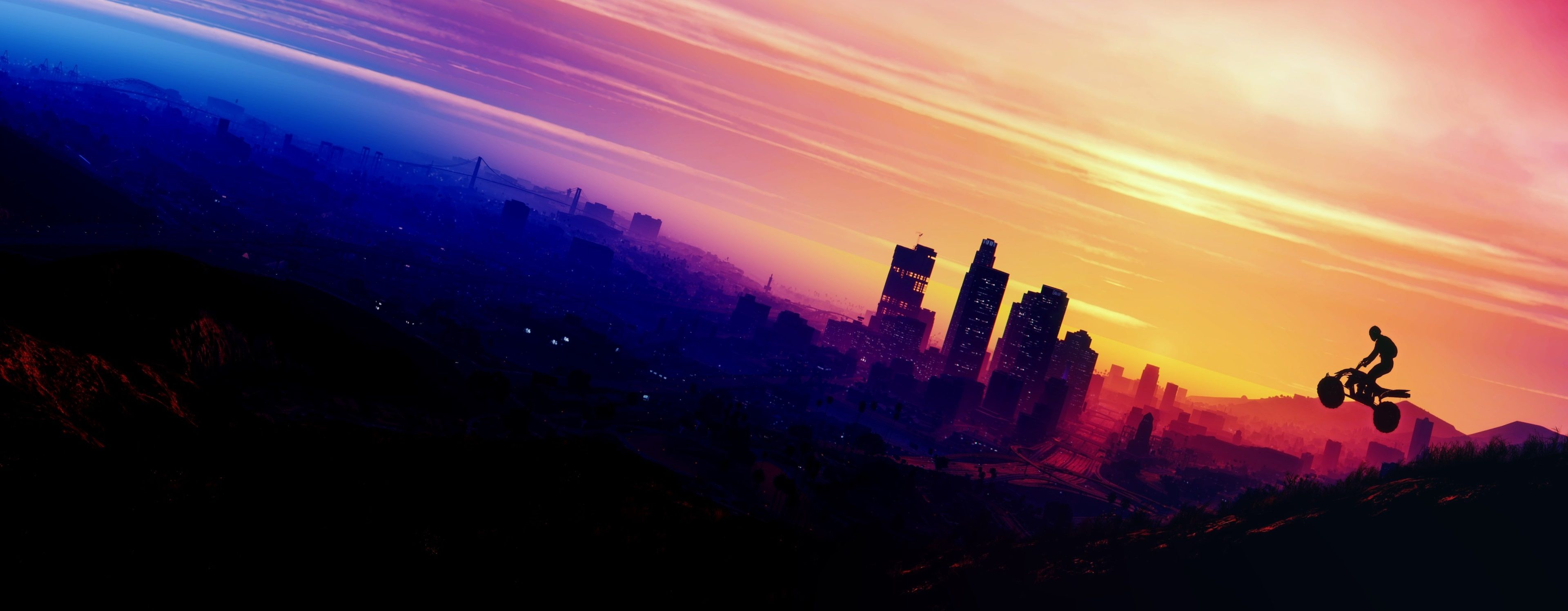 3840x1496 Grand Theft Auto V 4k High Def Wallpaper Grand