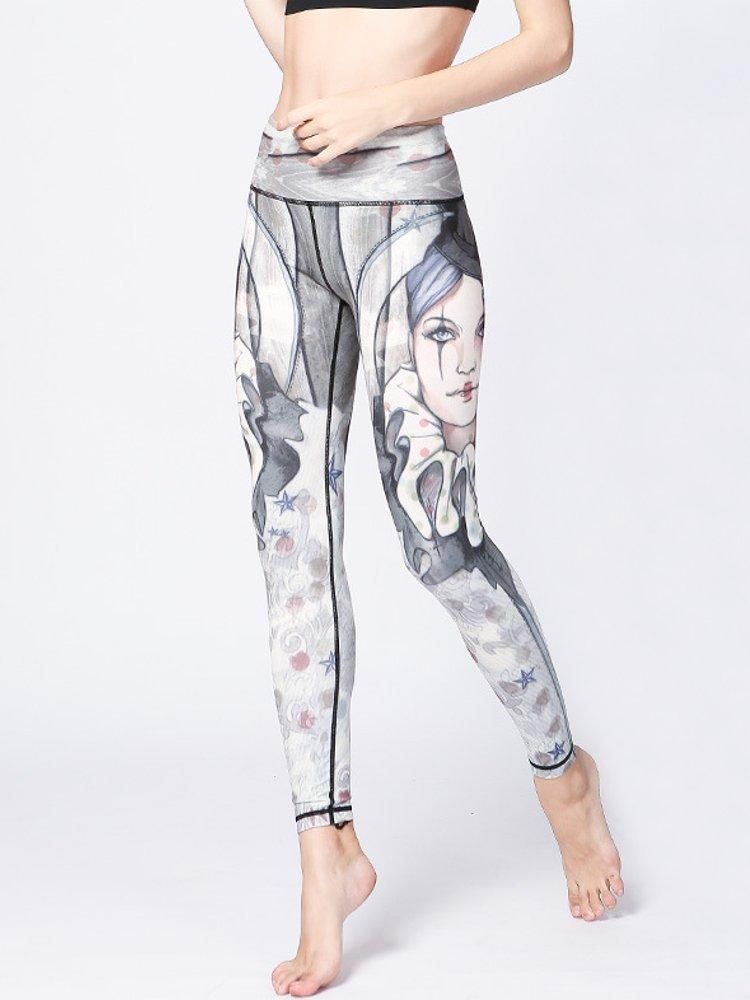 750d8aaadd Sexy Clown Printed Stretch Workout Leggings | RealBigBuy | Store ...