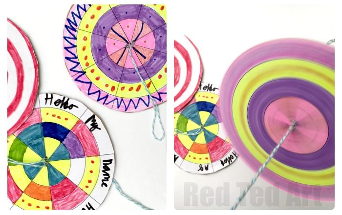 Diy Paper Spinner Toys Time Lab Vbs 2018 Pinterest Paper