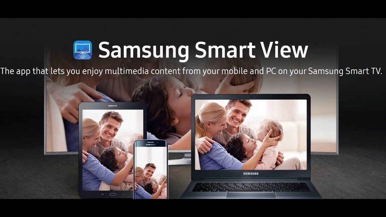 How to install Samsung smart view and update Samsung TVs