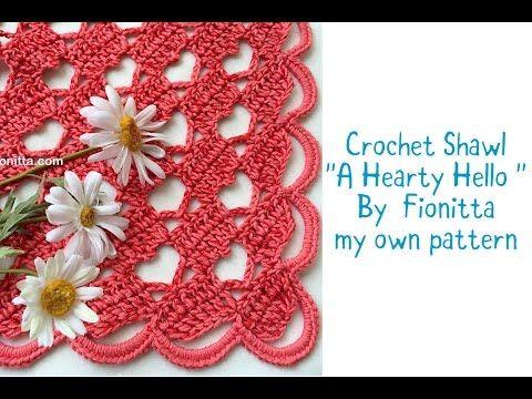 Crochet shawl \