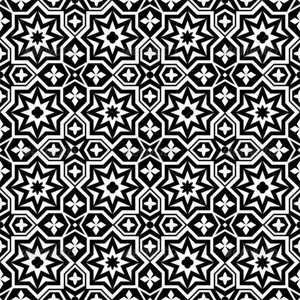 Abstract ornamental seamless pattern background  #GraphicRiver         Abstract ornamental seamless pattern background black and white. EPS10 opacity. Editable EPS and Render in JPG format     Created: 20November12 GraphicsFilesIncluded: JPGImage