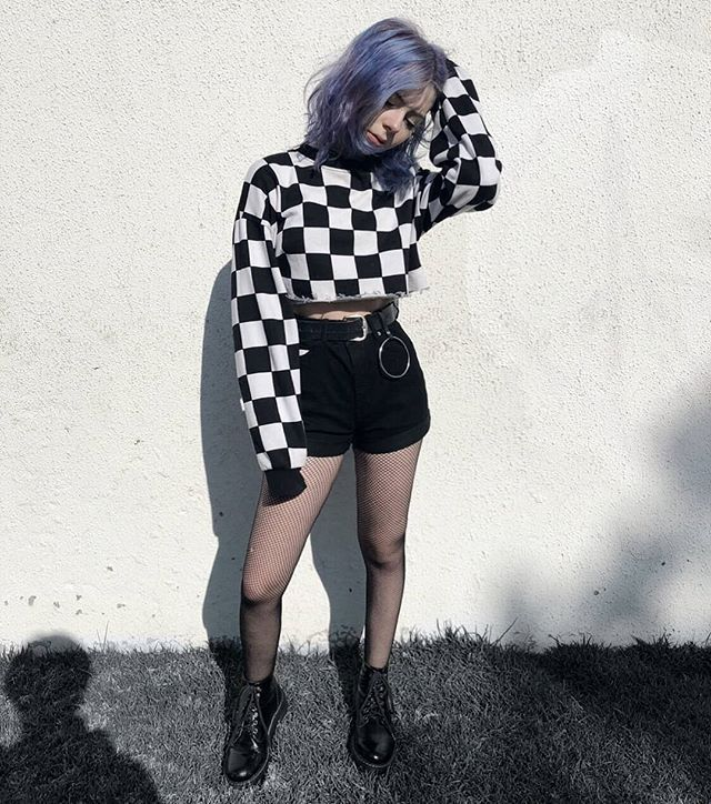 Grunge Goth Aesthetic Outfits