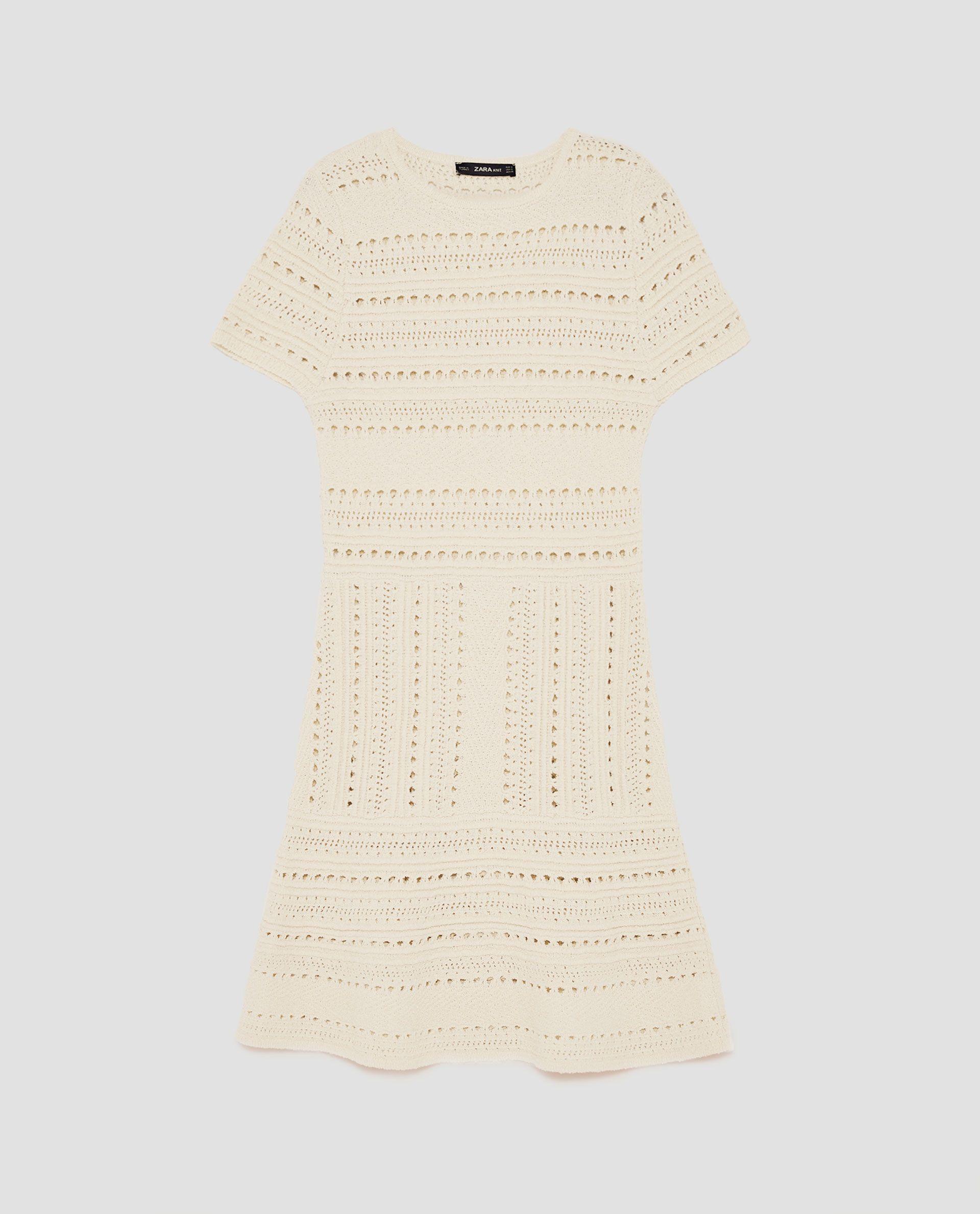 VESTIDO CON CALADOS crochet | Vestidos, Vestidos de mujer