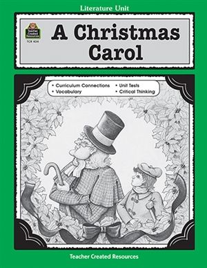 Charles Dickens A Christmas Carol ~ Lesson Ideas   Projects to Try   Christmas carol book ...