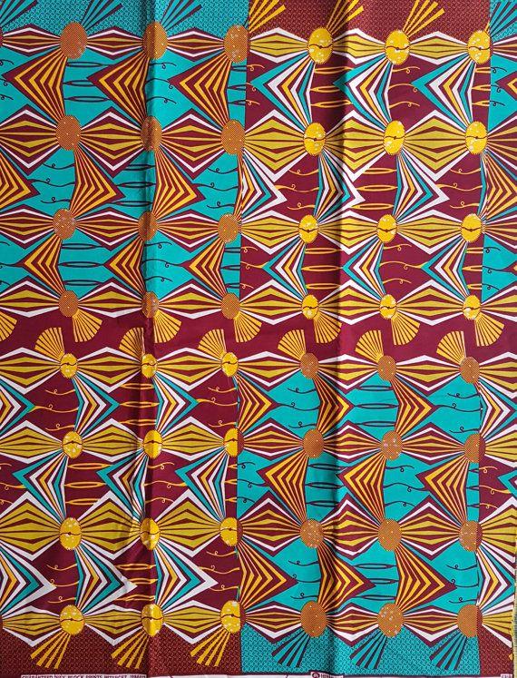Ankara print / Afrikaanse stof /African door AnkaraAfricanFabric