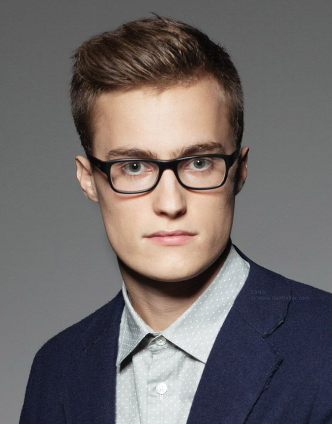 1171bbb986 Rock glasses and need a new style  Here are some of the best haircuts for  men with glasses. Plenty of options to choose from our 24 picture gallery.