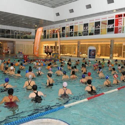 Montpellier Participez A Un Aquagym Geant Ce Soir Aquagym