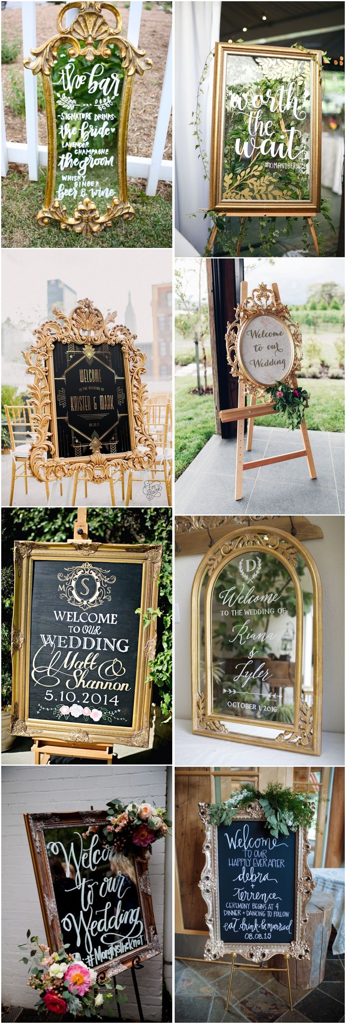 Vintage Wedding Welcome Sign Weddingsigns Gold Vintage Weddingdecor Vintageweddings Http Ww Vintage Wedding Signs Wedding Welcome Signs Wedding Signs