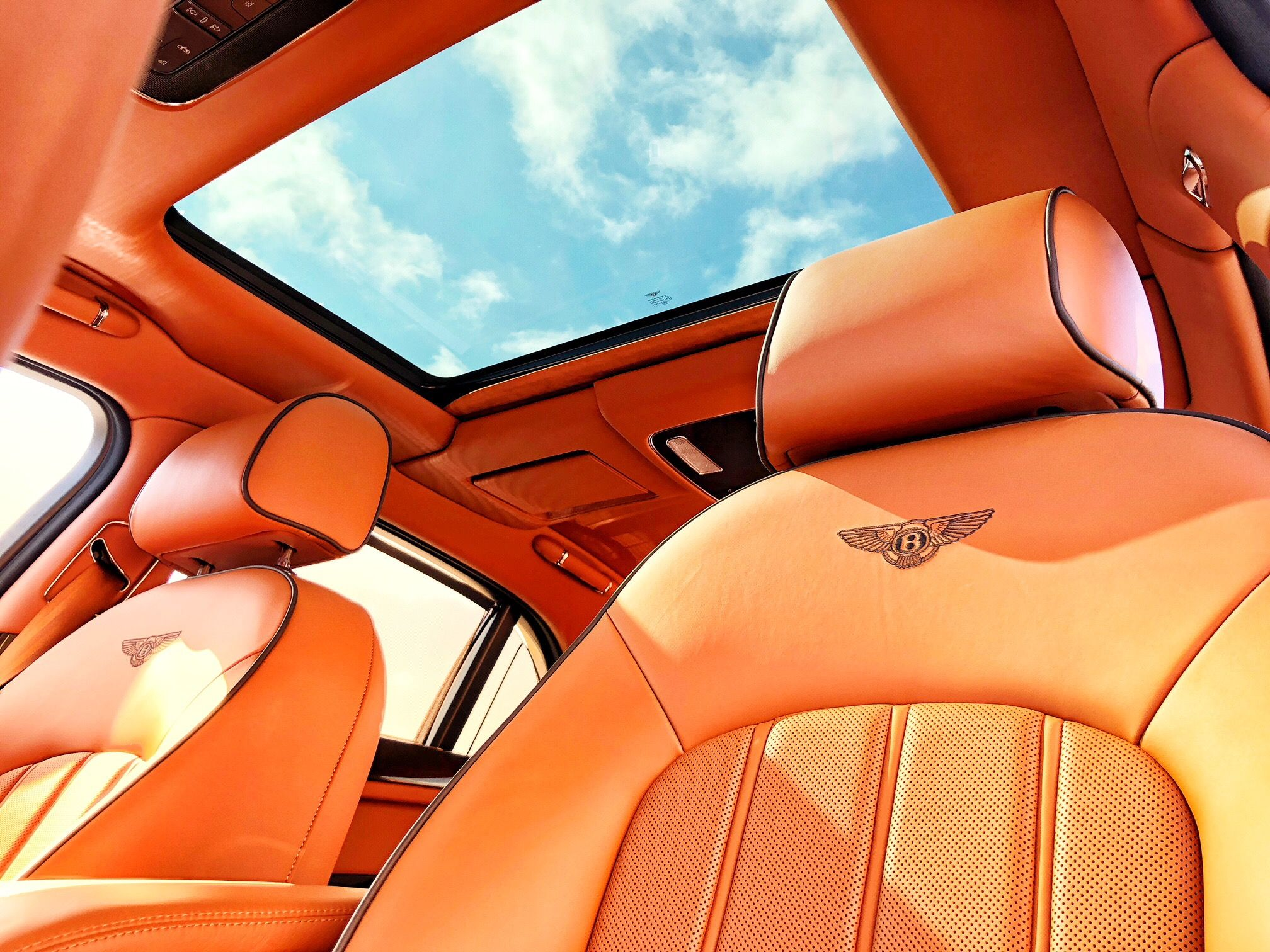 Interior Of The Luxurious Bentley Flying Spur From Bentley Houston Bentley Motor Car Bentley Flying Spur