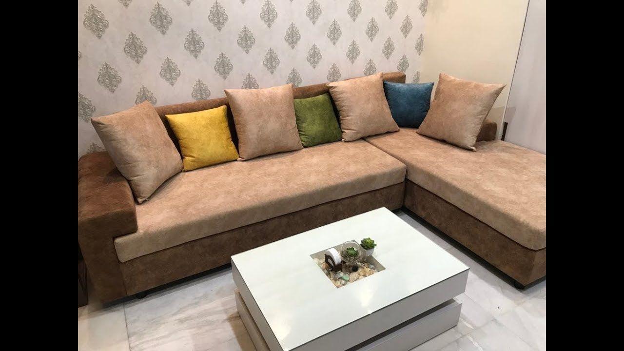 L Shape Sofa Design For Living Room 2019 5 Seated L Shape