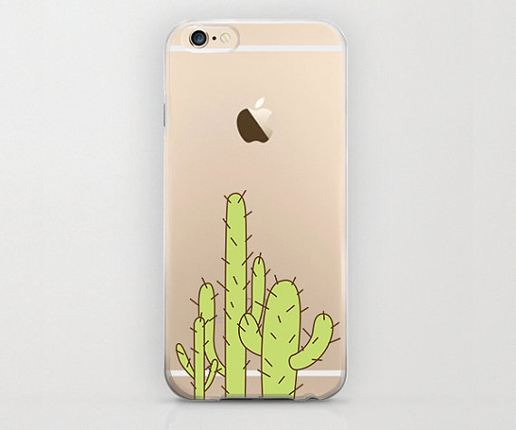 purchase cheap 8e839 a3cb5 Cactus iPhone 6 Case, Succulent iPhone 6s Plus Cell Phone Cover ...