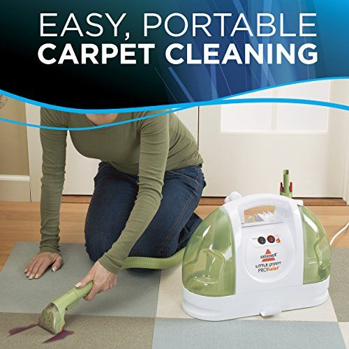 Bissell Little Green Proheat Compact Multi Purpose Carpet Cleaner 14259 Corded Carpet And Upholstery Cleaner Carpet Cleaning Hacks Cleaning Upholstery