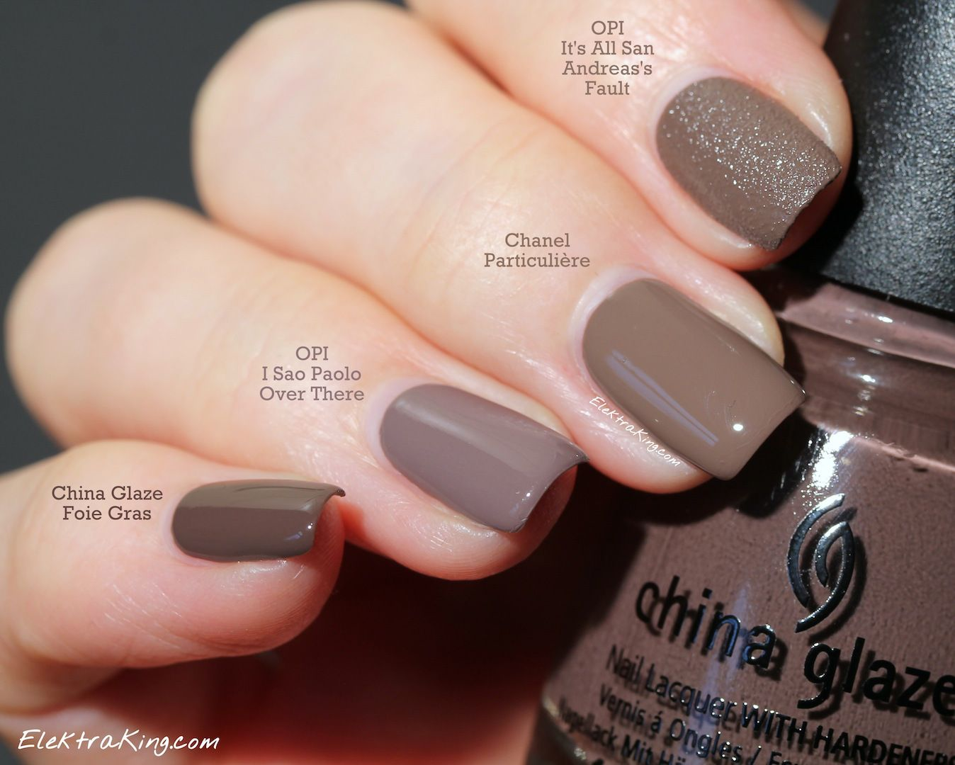 Image result for taupe nail