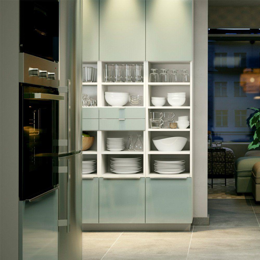14 idées déco à piquer aux cuisines IKEA  Cuisine ikea, Rangement