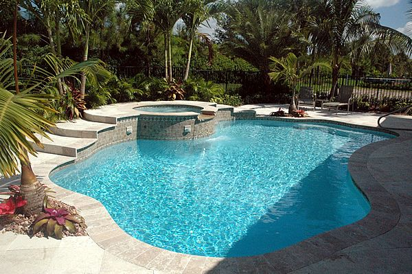 Treasure pool builders south florida new pools remodeled pools pool spa oh yes pinterest - Swimming pool designs florida ...