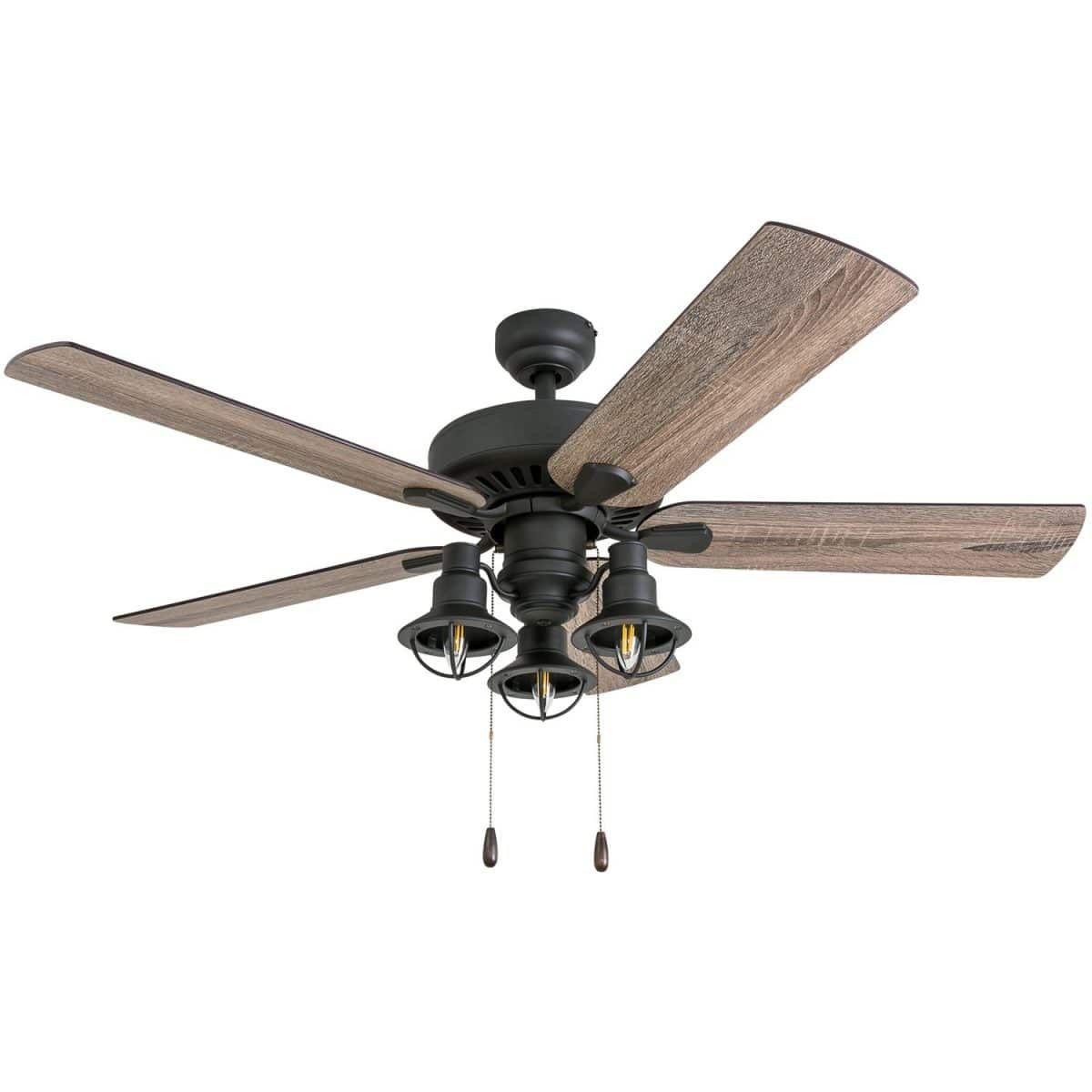 farmhouse ceiling fan with light 42 inch
