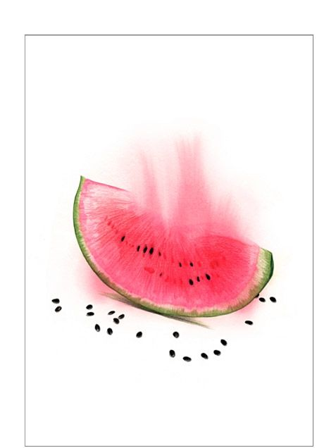 Melon Print (20,9x14,7cm)