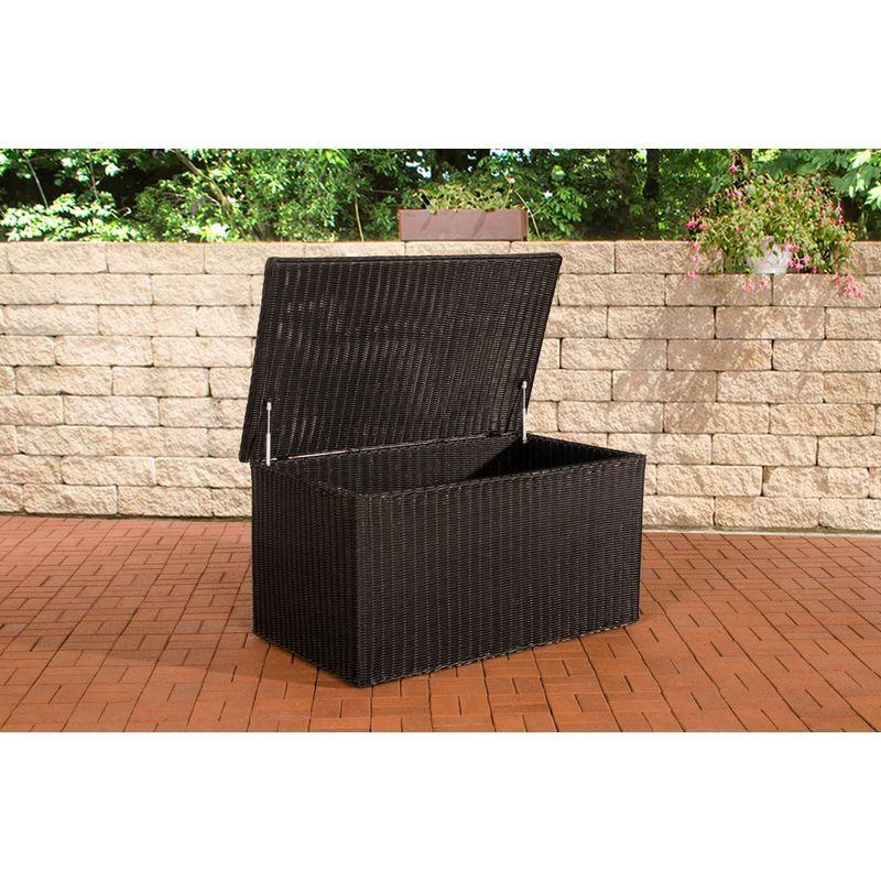 Luxus Auflagenbox 5mm Schwarz Xl Clp Auflagenbox Gartenmobel Polyrattan Gartenmobel