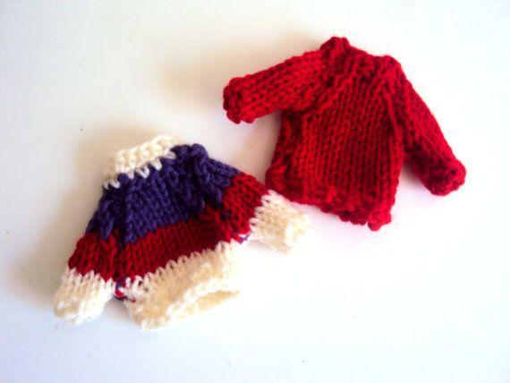 Knit Miniature Sweater Knit Sweater Wedding Decoration Home Decor Egg Cozy Christmas Ornament