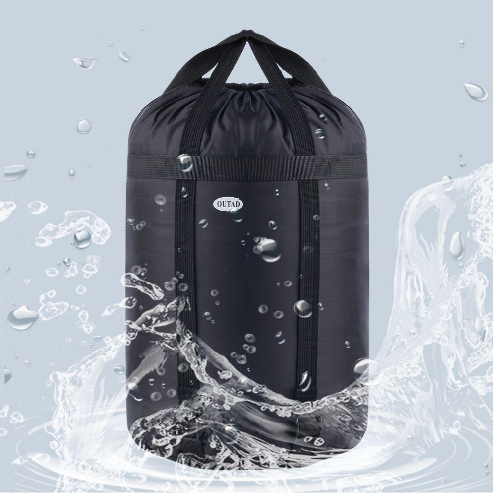 Lichtgewicht Nylon Compressie Stuff Sack Bag Outdoor Camping Slapen Tas Ransel Kleine 402020 Cm Gratis Verzending