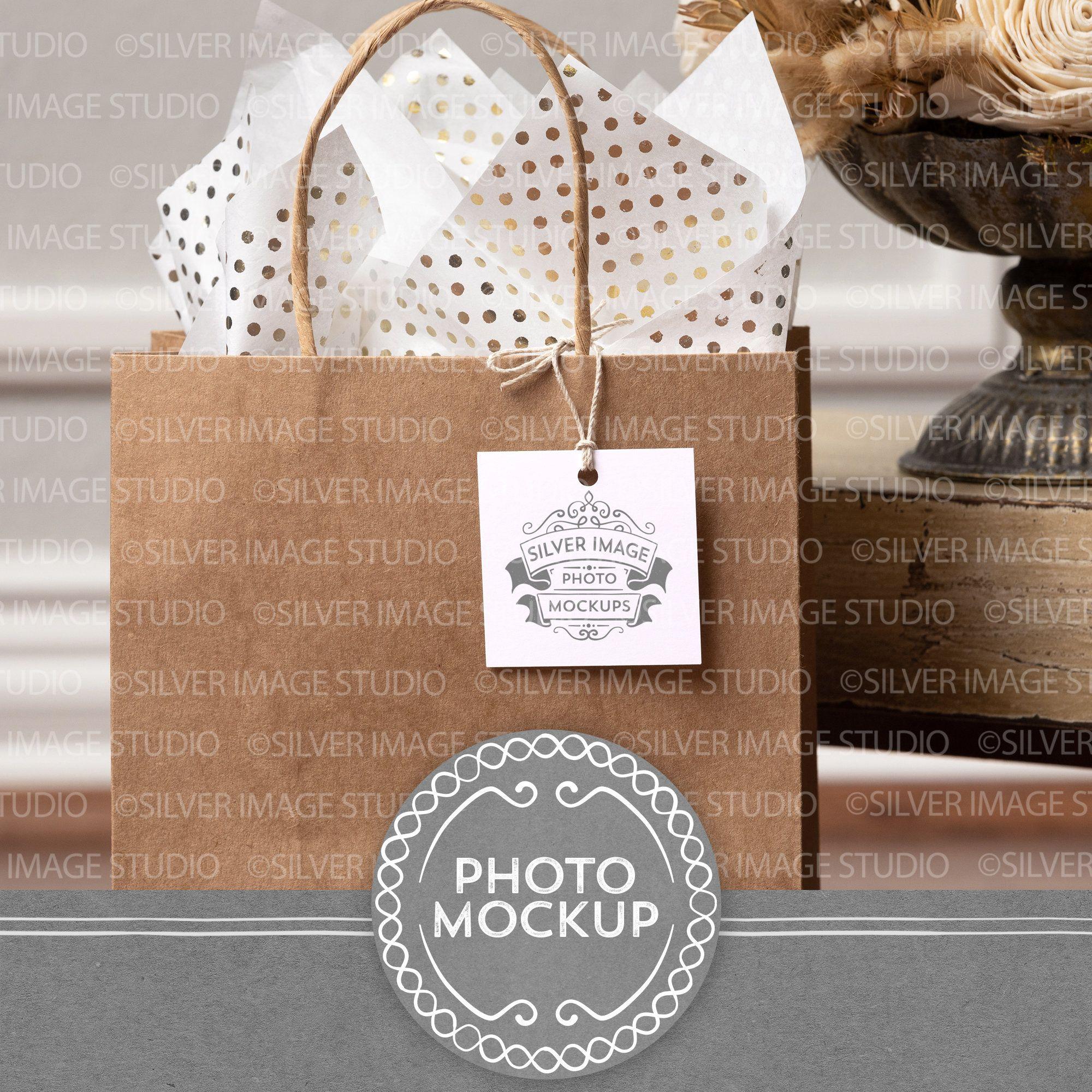 Download Square Gift Tag Mockup Photo Paper Mockup Kraft Bag Tag Etsy Gift Tags Stationery Mockup Paper Mockup