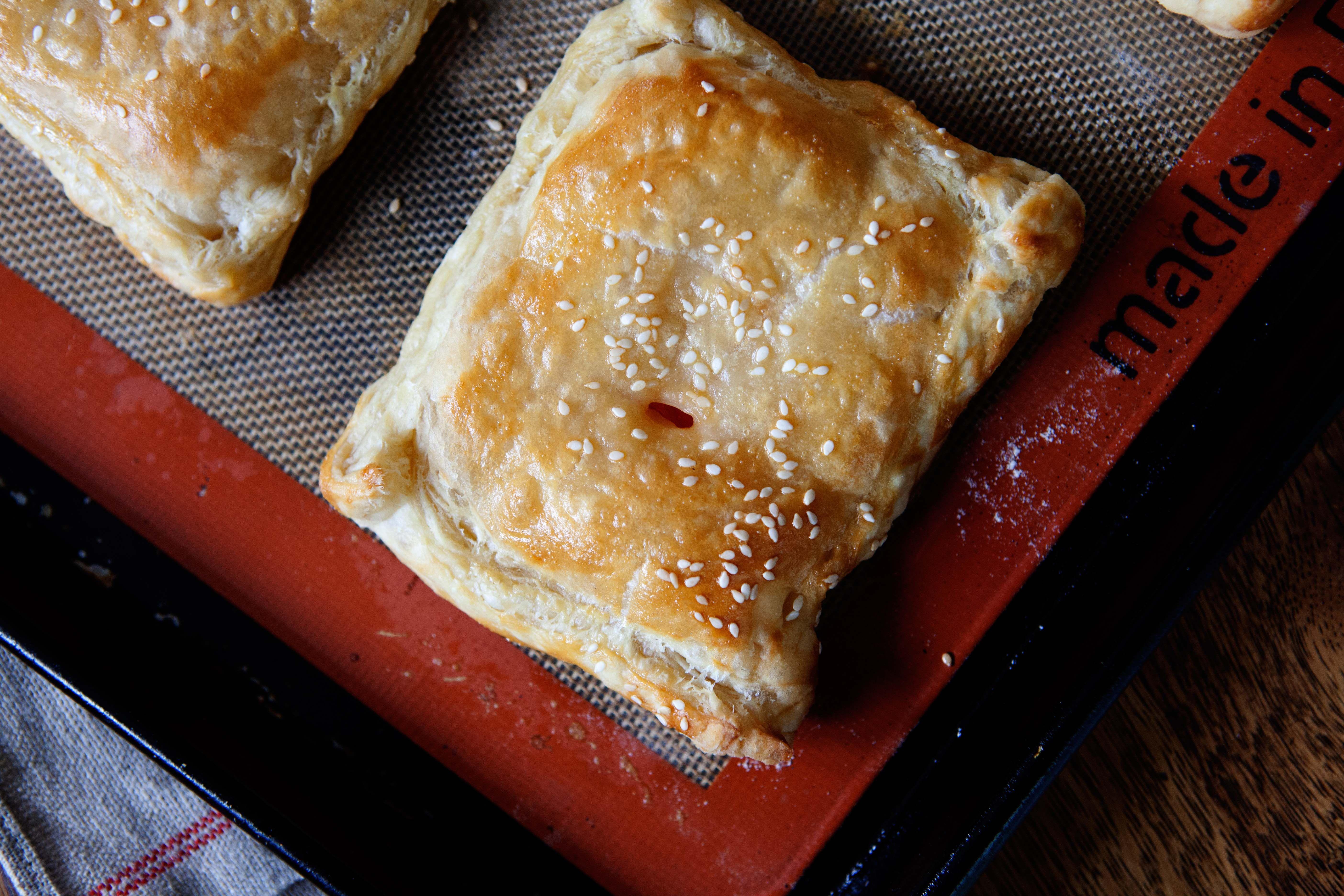 Tomato And Cream Cheese Turnovers Recipe Turnover Recipes