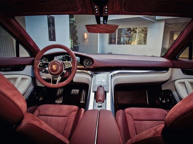 2019 Porsche 717 Interior High Resolution Picture Auto Interiors