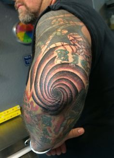Spiral Elbow By Amber Bailey More Tattoo Ideas Spiral Elbow