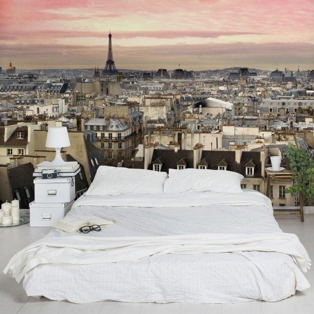 Vliestapete - Paris hautnah - Fototapete Breit Wandgestaltung