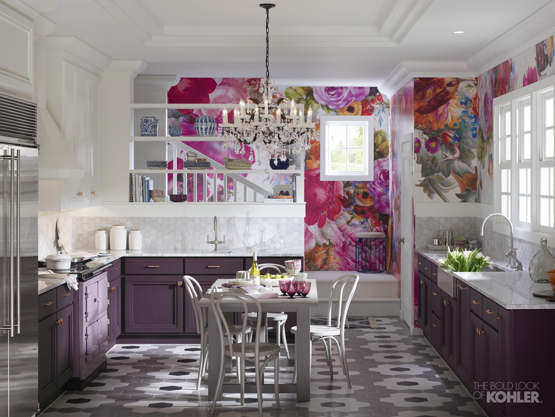 American Plum Kitchen Kohler Ideas Kitchen Colors Home Decor Purple Kitchen