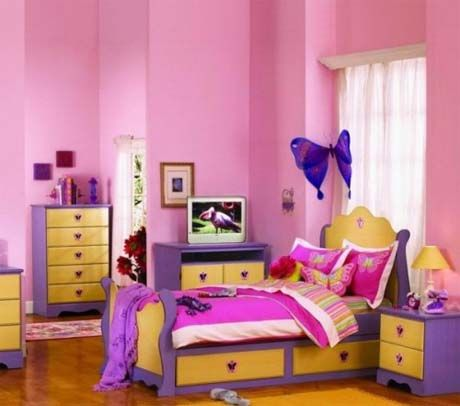Girls Bedroom Decoratingkids