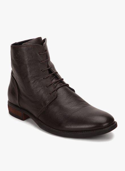 d72477b84cb2 Buy Arrow Brown Boots for Men Online India