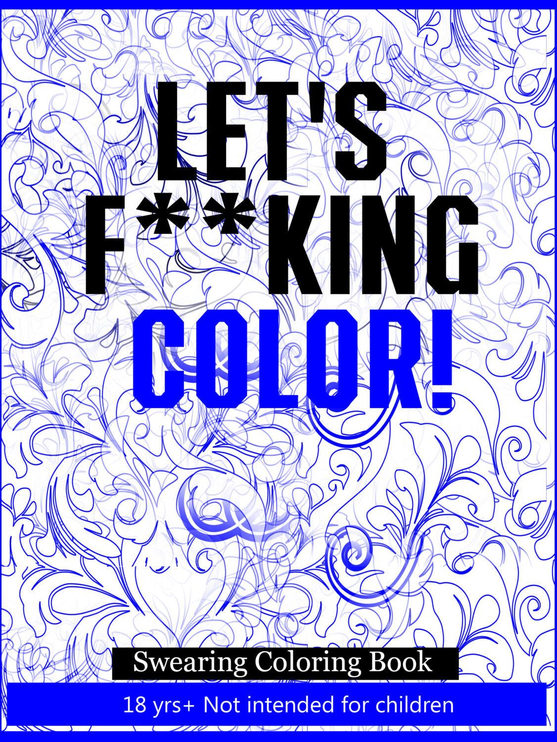 Sw swear word coloring pages etsy - Let S Fucking Color Swearing Coloring Book Download Image Sw Swear Word Coloring Pages Etsy