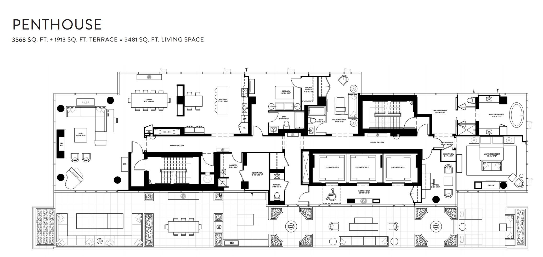 The Bond Condos Penthouse 290 Adelaide St W Toronto Floor