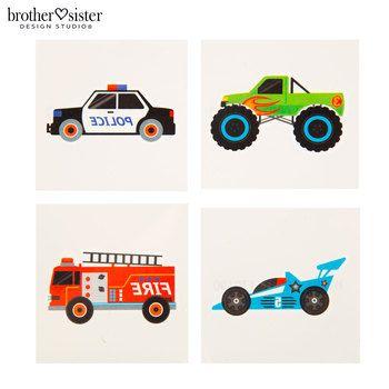 Cars & Trucks Tattoos | Hobby Lobby | 975730
