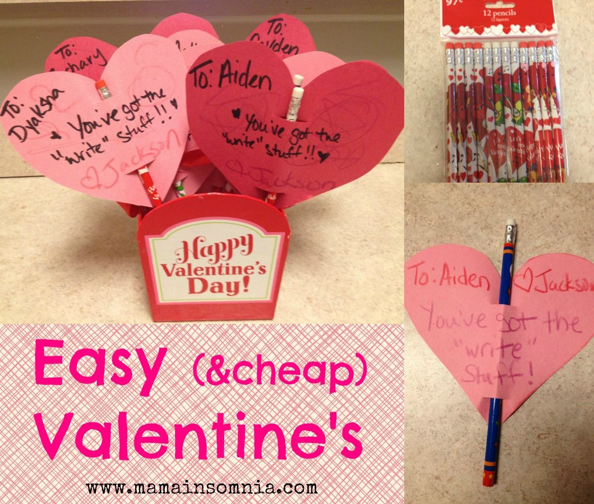 Easy Peasy Cheap Valentine S Cheap Valentine Valentine Fun Valentines