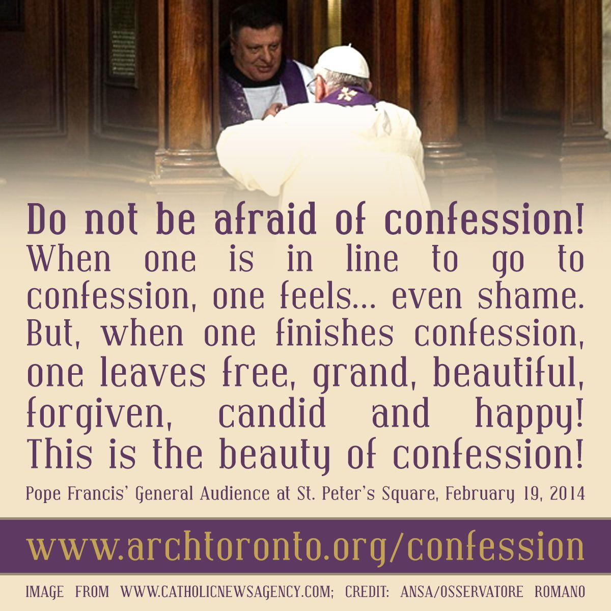 how to do confession step by step in english