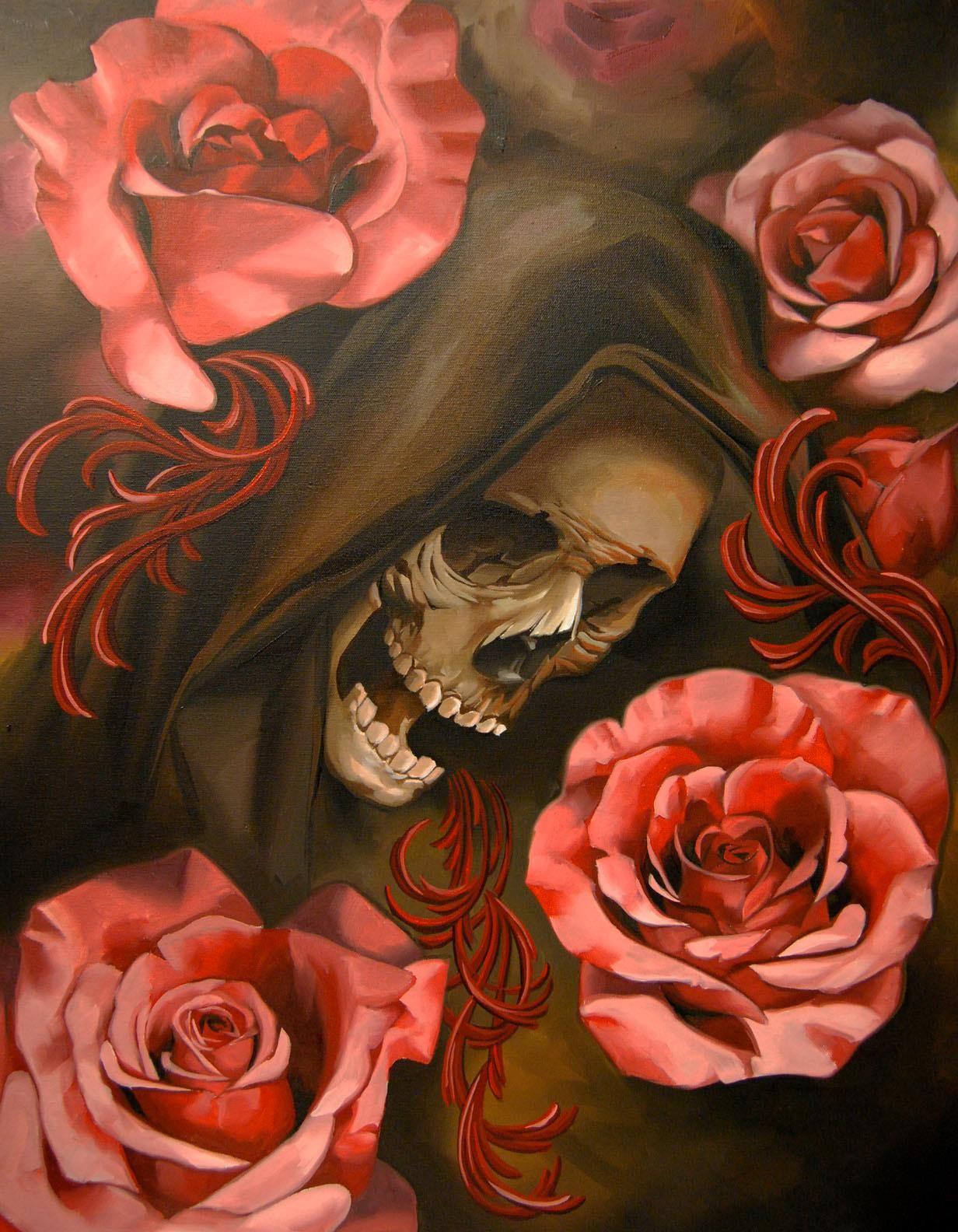 Картинки в стиле смерти