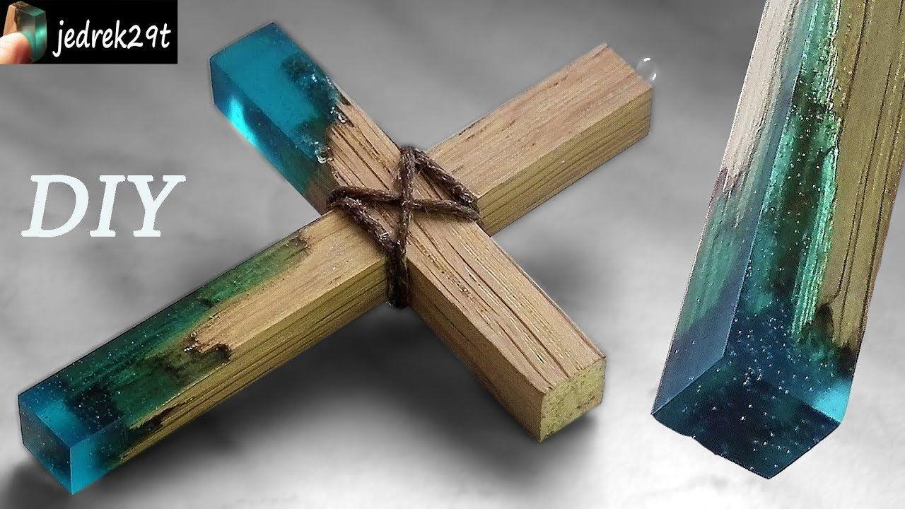 How to make secret wood cross diy wood jewelry diy