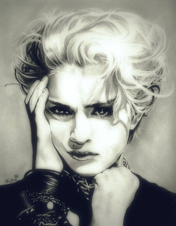 Madonna The Material Girl By Thenightgallery Deviantart Com On