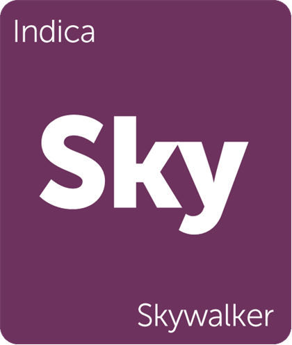 Skywalker is a hybrid cannabis strain that can be helpful in treating pain and insomnia. Indica- dominant, these plants are hardy and stay small.