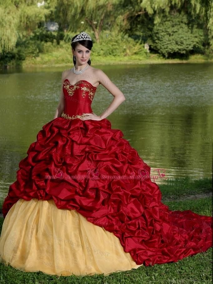12fa0ed71e3 red and gold quinceanera dresses 2013 http   evening-dresses.worlddresses.