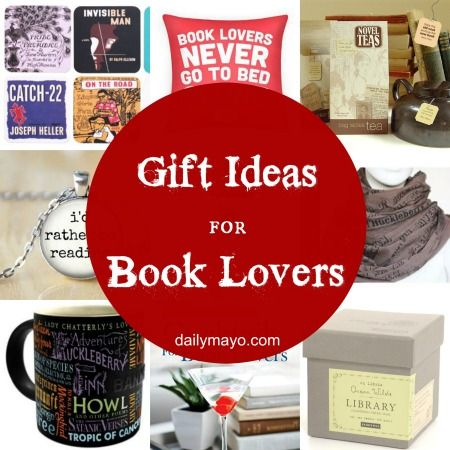 Gift Guide for Book Lovers and a $75 Cash Giveaway plus 3 Other Prizes! - Gift Guide For Book Lovers Fun With Books Pinterest Gifts