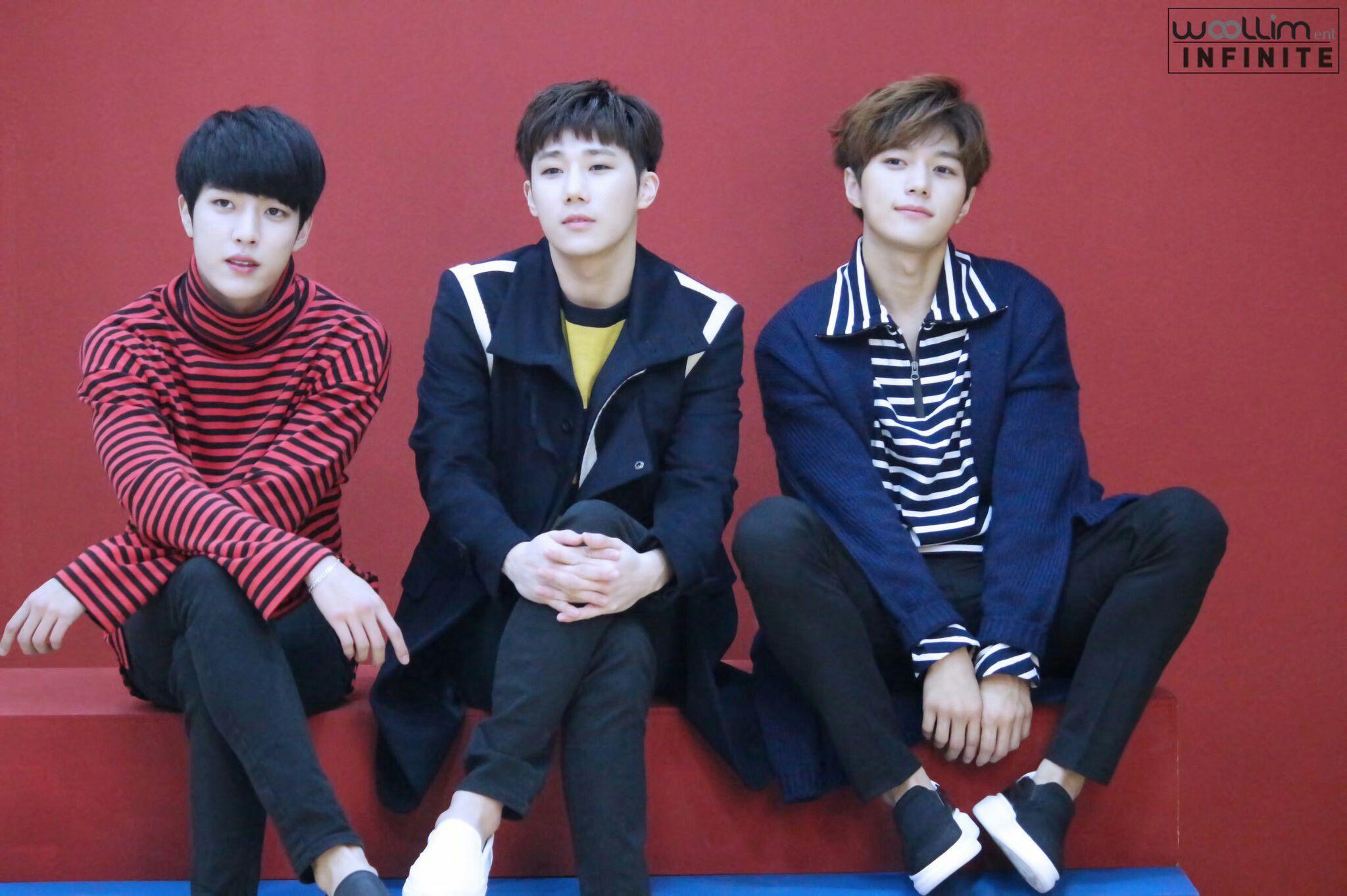20170106 Woollim Post Naver Update: INFINITE 2017 Season Greetings Filming 2 - #Sungyeol, #Sungkyu #Myungsoo
