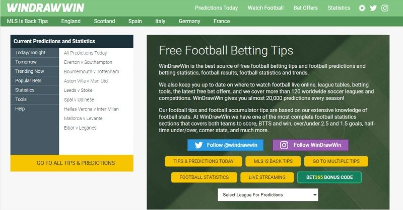 Betting windrawwin prediction what is a lucky 31 in betting terms dime