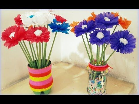 How to make tissue paper kite paper flowers quick and easy how to make tissue paper kite paper flowers quick and easy youtube mightylinksfo