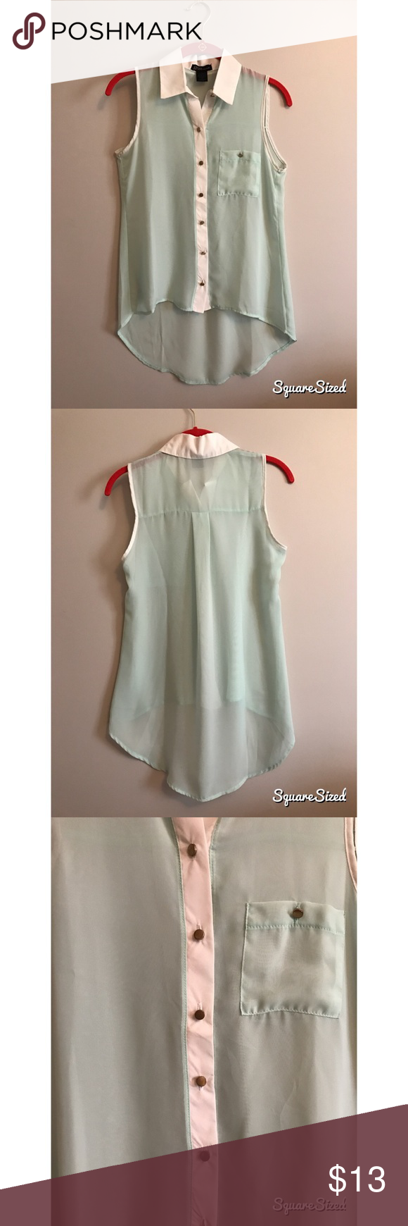 Spring top sandals top cd and mint top
