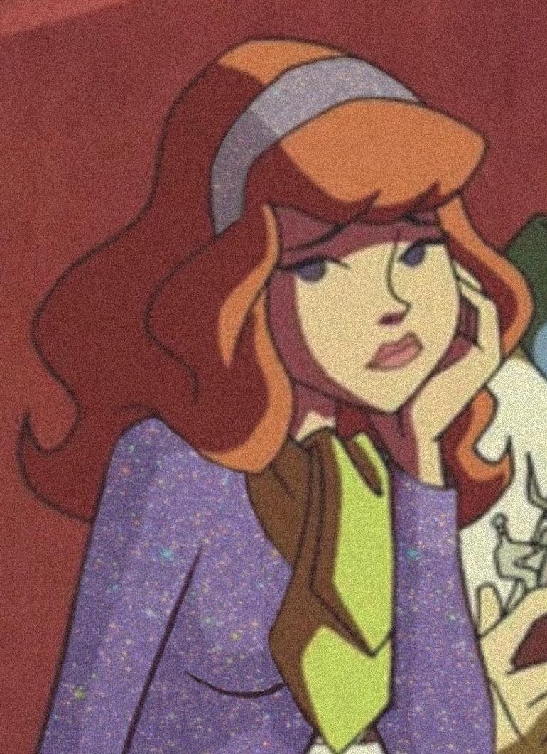 Cartoon Aesthetic Icon Scooby Doo Daphne Blake In 2020 Vintage Cartoon Cartoon Profile Pics Princess Cartoon