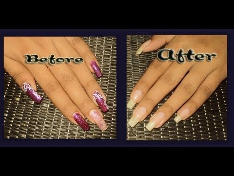 How To Remove Soak Off Gel From Regular Nail Polish Remover No Acetone Youtube Nail Polish Remove Gel Polish Nail Polish Remover
